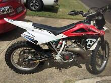 2008 Husqvarna WR125 registerable 2 stroke MX dirt bike low cut Mount Gravatt Brisbane South East Preview