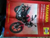 Yamaha ybr 125 or xt125 manual