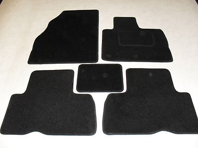 Renault Grand Scenic 2009-15 Fully Tailored Deluxe Car Mats in Black