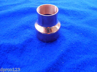 3 X 2 Copper Reducer Coupling Copper Bell Reducer Plumbing Free Shipping