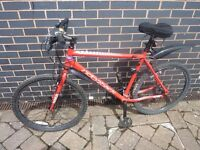 Ridgeback MX2 2016 Mountain Bike, great condition, less than a year old, stored in garage