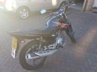 Yamaha YBR 125 2013 black