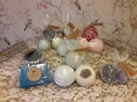 Hand made bath sets all 100% natural ingredients