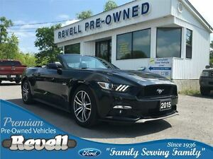 2015 Ford Mustang GT Premium Convertible...415 HP 5.0 litre, Htd