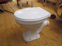 Armitage Shanks White toilet and Cistern