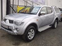 Mitsubishi L200 2.5 DiD Animal Double Cab 4WD Pick Up with rear canopy