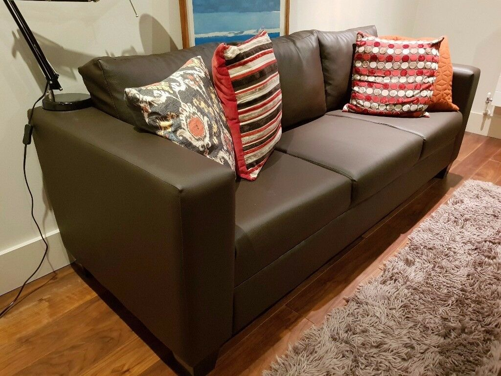 New three seater sofa