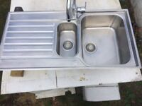 **FRANKE SINK**WITH GROHE KITCHEN TAP**EXCELLENT CONDITION**1 YEAR OLD**COMES WITH ALL CONNECTIONS**