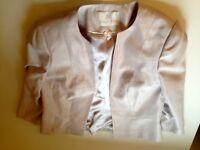Cream Jacques Vert jacket Size 10 RRP £99