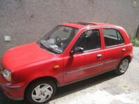 NISSAN MICRA CAR FOR SALE