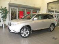 2013 Toyota Highlander Limited LOCAL ONE OWNER