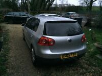 Vw golf gt tdi 2005 low mileage