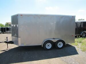 2013 Interstate USED 7'x14' VNOSE CARGO TRAILER
