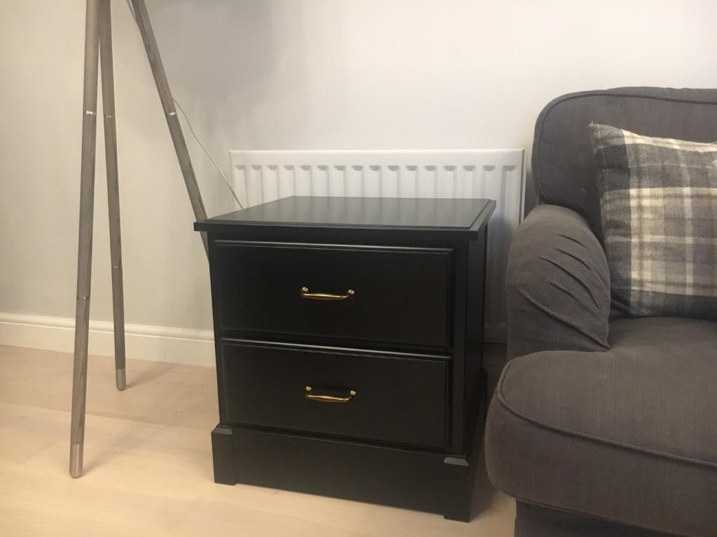 Ikea Bedside Table Draws Undredal