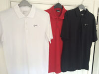 *BARGAIN* 3 x Nike Dri-Fit Polo Shirts - Small *Excellent Condition*