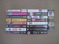 17 VHS video / film tapes. A mixture of various films etc
