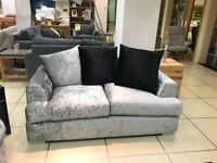 Sofa for sale. 2 two seater sofa less than a year old.