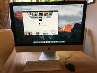 Apple iMac 27 inch Late 2013 3.2ghz i5 24GB RAM 1TB HD. 1 Years Applecare Warranty. Excellent