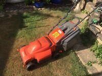 Flymo Electric Lawnmower & Black & Decker Strimmer