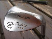 Titleist Special Grind 60 degree Lob wedge