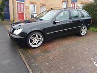 Mercedes Benz C 200 1,8 petrol