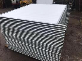 34 Temporary Solid Site Hoarding Fencing Panels ~ Like New