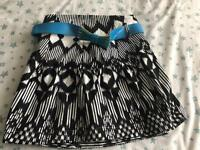 C River island belted skirt 14