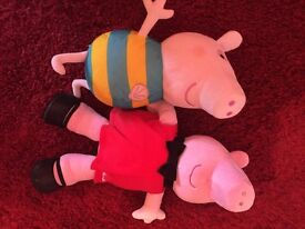 Pepper Pig and George Pig