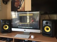 KRK Rokit 6 - RP3 Generation 3 Studio Monitors Excellent Condition - Black