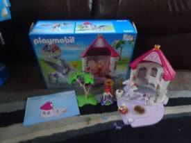 Playmobil Boxed As New Complete with Instructions Princess Room With Pegasus Set 6140 Only £25