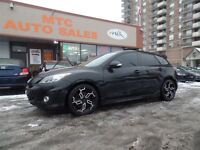 2012 Mazda Mazdaspeed3 Black Leather with Red Trim  Bose Turbo P