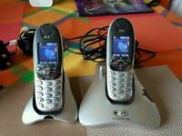 BT Freestyle 7310 phone twin set