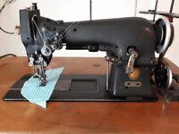 Singer 119w2 Industrial Hemstitcher Embroidery machine 72w12 72w19