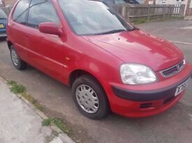 HONDA LOGO 1.3 ..QUICK SALE..NO TIME WASTERS