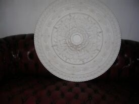 large ceiling rose