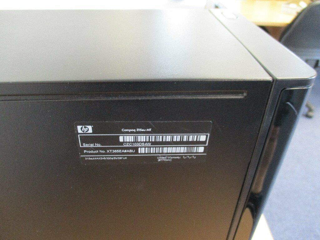 HP COMPAQ 315 eu MT PC - Lubuntu 18 : 04 softwear with key board and Mouse  | in Birtley, County Durham | Gumtree