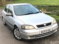 2003 Vauxhall astra 1.6 sxi