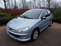 Peugeot 206 1.4 Look . 32000 miles from new should be seen fantastic on fuel