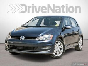 2015 Volkswagen Golf 1.8 TSI Comfortline Leather, Sunroof, He...