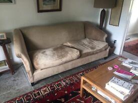 Sofa - FREE -Pickup only - 20yr old sofa from HARRODS - near Keswick, Cockermouth, Penrith