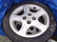 nissan almera gti alloy wheels
