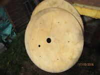 2 X 1000 X 1000 X 12MM CABLE REEL ENDS