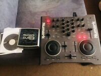 Numark Stealth DJ controller plus audio interface