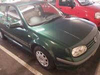VW Golf 1.6 (5 door) 2002 Petrol