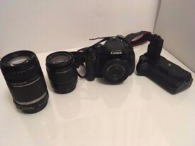 Canon 600D and lenses - great starter kit