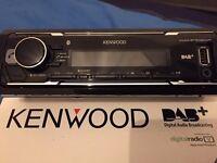 Kenwood car radio KMM-BT502DAB (Bluetooth+USB+AUX+Microphone+DAB)