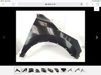 Front Wing Moulding Trim Passenger Side Compatible With Qashqai Qashqai+2 2007-2013 Trade Vehicle Parts DS1001