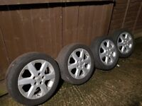 "16"" aloyweels 5 studs for Vauxhall"