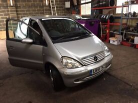 mercedes a class automatic spares or repairs