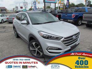 2017 Hyundai Tucson SE | AWD | LEATHER | SUNROOF | BACKUP CAM